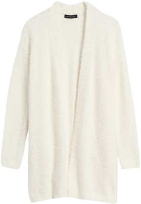 Banana Republic Fuzzy Long Cardigan Sweater