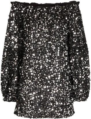 Rotate by Birger Christensen Gloria sequinned mini dress