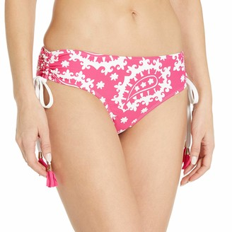 Anne Cole Women's Alex Solid Side Tie Adjustable Bikini Swim Bottom
