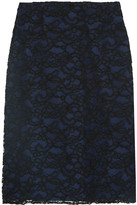 Nina Ricci Cornelli Lace Skirt - Black