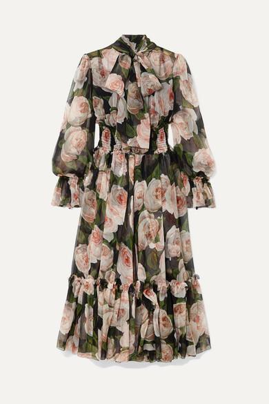 392df214 Dolce & Gabbana Floral Print Dresses - ShopStyle