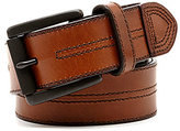 Johnston & Murphy Double Center Stitch Belt
