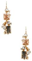 Alexis Bittar Elements Geometric Triple Stone Wire Drop Earrings
