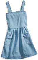GUESS Denim Pocket Dress (2-6x)