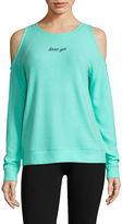 Flirtitude Cozy Fleece Sweatshirt-Juniors
