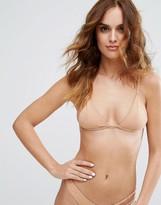 Minimale Animale Studded Triangle Bikini Top