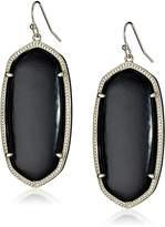 Kendra Scott Gold and Magenta Danielle Drop Earrings