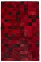 Pier 1 Imports Zada Cowpatch Red 8x10 Rug