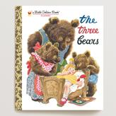 Cost Plus World Market The Three Bears, a Little Golden Book