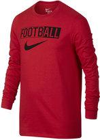 Nike Boys' Long-Sleeve Graphic-Print T-Shirt