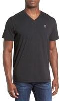 Psycho Bunny Men's Pima Cotton V-Neck T-Shirt