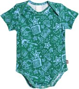 City Threads S/S Printed Snap Bodysuit - Butterflies - 18-24 Months