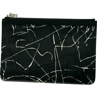 Proenza Schouler Small Courier Black Leather Clutch bags