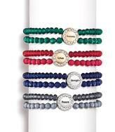 Avon Inspirational Double-Row Bead Bracelet