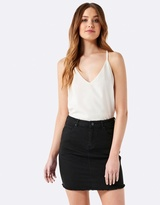 Forever New Lara Denim Mini Skirt