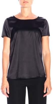 Emporio Armani Short-sleeved Silk Shirt
