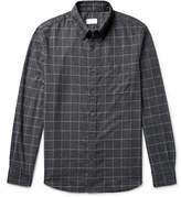 Club Monaco Button-down Collar Checked Cotton-flannel Shirt
