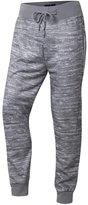Jiayiqi Men's Ninth Length Trainning Pants Bright Blue Harem Pants Sweatpants L