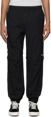 MSGM Black Zip Off Lounge Pants