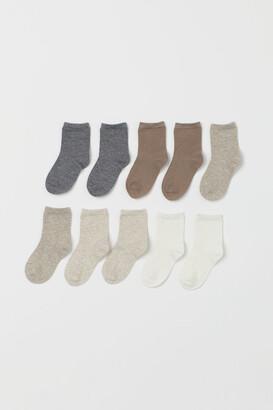 H&M 10-pack Socks - White