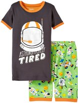 Hatley Astronauts PJ Set (Toddler/Kid) - Brown - 2T
