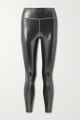 Nike Icon Clash Metallic Dri-fit Leggings - Anthracite