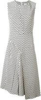 Christian Wijnants 'Dena' polka dots dress - women - Cotton/Polyester/Spandex/Elastane/Viscose - 38