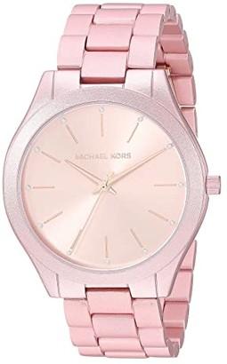 Michael Kors MK4456 - Slim Runway (Pink) Watches