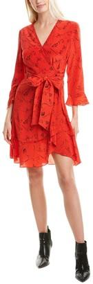 Tanya Taylor Giorgia Silk Mini Dress