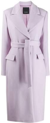 Pinko Belted Long Coat