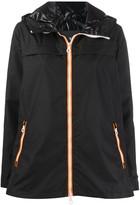 Duvetica hooded zip-up jacket