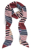 Sole Society Women's Stripe Skinny Scarf