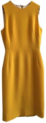 Dolce & Gabbana Orange Wool Dresses