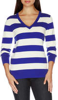 Nautica Long Sleeve Stripe Sweater
