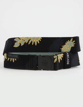 Arcade Ranger Black & Grus Green Mens Belt