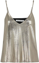 Bishop + Young Metallic Gold Cami Top