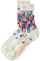 Cath Kidston Daisies & Roses Border Day Socks
