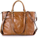 Yafeige Women's Genuine Leather Large Capacity Shoulder Bag Tote Cross Body Bags Top-handle Handbags