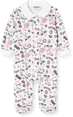 MEK Baby Girls' Tutina Jersey F.sia Playsuit