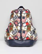 Tommy Jeans 90's Capsule All Over Flag Print Backpack