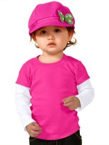 Kavio! Unisex Infants Two-fer Long Sleeve Top (Same I1P0538) 18M