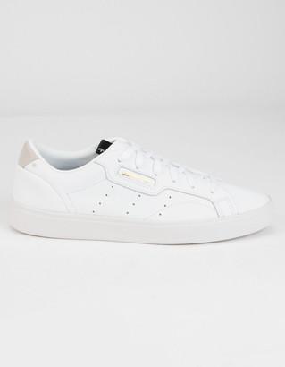 adidas Sleek Womens White Shoes