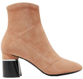 3.1 Phillip Lim Drum Stretch-suede Ankle Boots