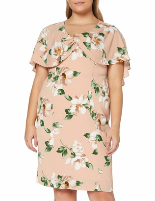 Gina Bacconi Women's Leyna Floral Georgette Dress Cocktail