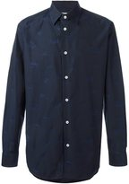 Vivienne Westwood Man - logo print button down shirt - men - Cotton - 46