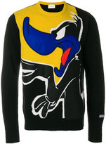 Iceberg Daffy Duck knit sweater