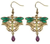 Summit Dragonfly Earrings - Collectible Jewelry Accessory Dangle Studs Jewel