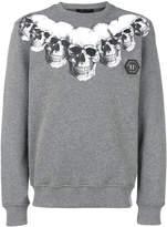Philipp Plein multi skull print sweatshirt