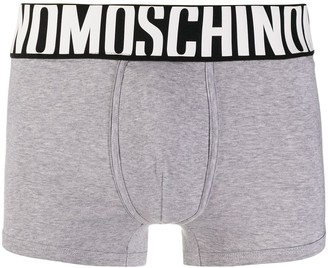 Moschino Logo Waistband Boxers
