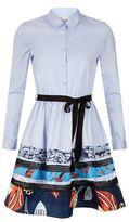 Maje Rafina Embellished Shirt Dress